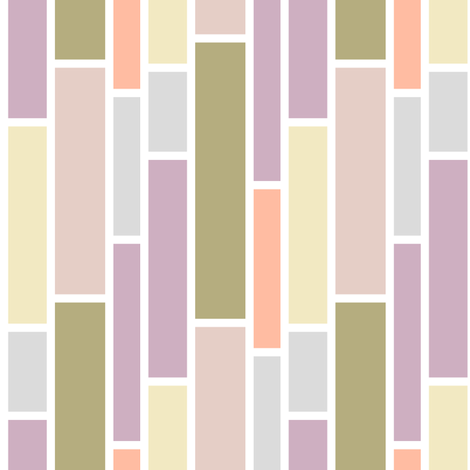 Pink Hue Subway fabric by fridabarlow on Spoonflower - custom fabric