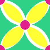 Neon Yellow Petals