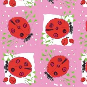 Ladybug love_pink