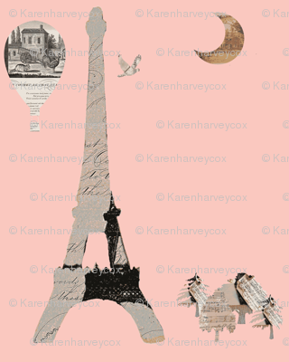 Doll House Collection, Pink Eiffel Tower