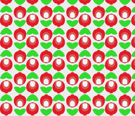 Modern POM fabric by pink_koala_design on Spoonflower - custom fabric