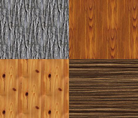 Wood Sampler fabric by kadenza on Spoonflower - custom fabric