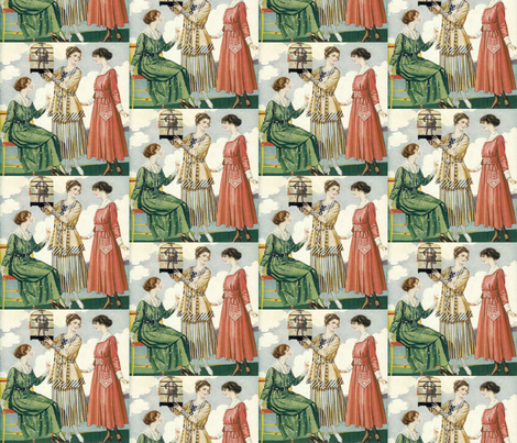 Curious Pets fabric by glanoramay on Spoonflower - custom fabric