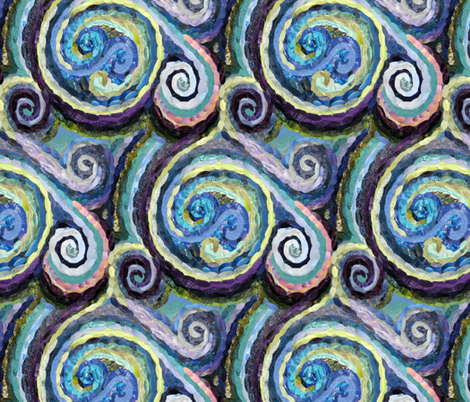 Whirls and Swirls fabric by cricketswool on Spoonflower - custom fabric
