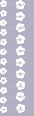 Purple Blossom Stripe