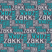 Personalised Name Fabric - Turquoise aniseed white