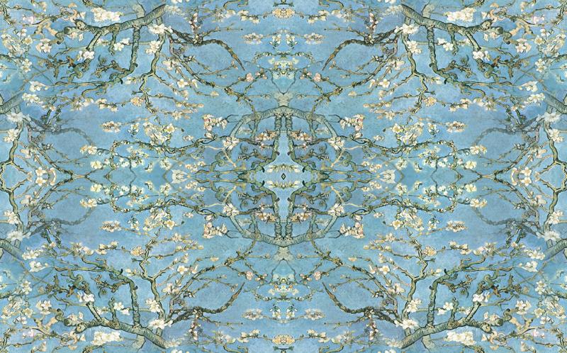 gallery for gt van gogh almond blossom wallpaper