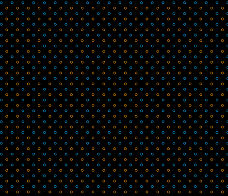 Aperture MiniDot (Black) fabric by catimenthe on Spoonflower - custom fabric