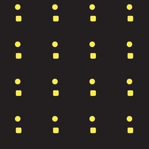 shape glyph dot square - grey