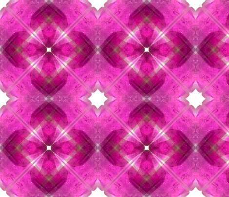 Ruby_mandala fabric by lavaflowzzz on Spoonflower - custom fabric