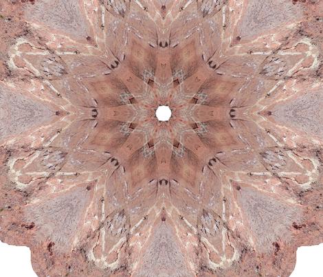 Earth_mandala fabric by lavaflowzzz on Spoonflower - custom fabric