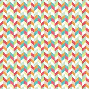 Multi Color Herringbone