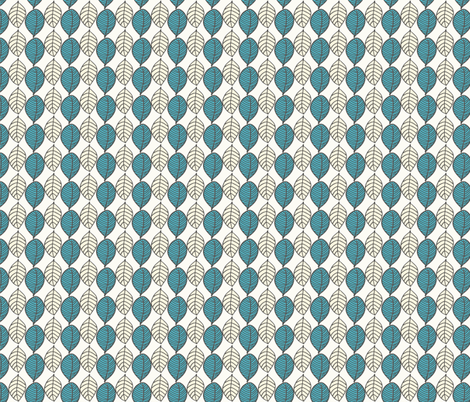 Leaves fabric by leeandallandesign on Spoonflower - custom fabric