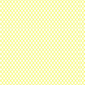 Yellow Latticework