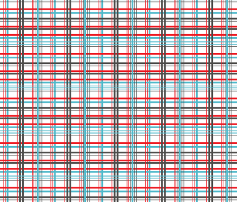 Scotish Check fabric by leeandallandesign on Spoonflower - custom fabric