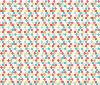 Multi Color Honeycomb