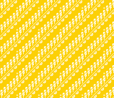 Lemon Squeeze fabric by karistyle on Spoonflower - custom fabric