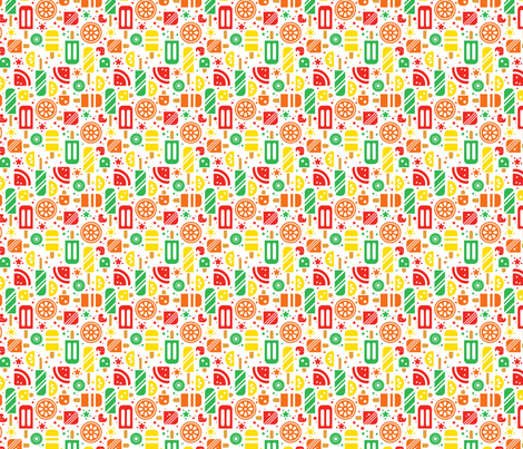 Yummy Summer fabric by karistyle on Spoonflower - custom fabric