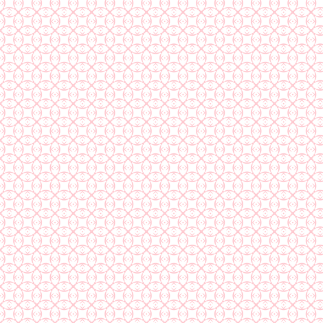 Doll prints in pale pink on white fabric by the_white_cat on Spoonflower - custom fabric
