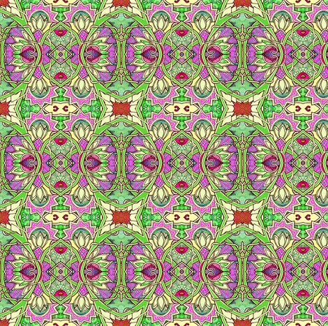 Enchanted Weed Patch fabric by edsel2084 on Spoonflower - custom fabric