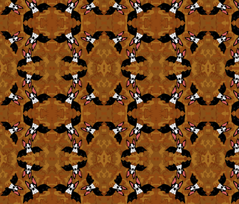 Camo Bats fabric by missyq on Spoonflower - custom fabric