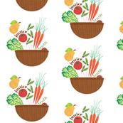 Market Basket Print