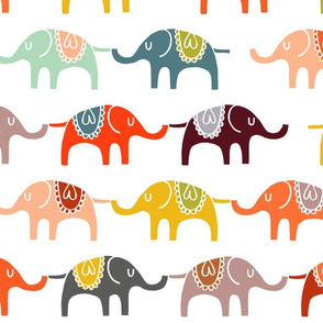 elephant march wallpaper