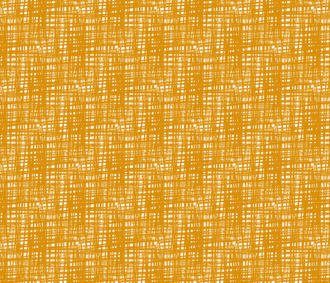 Gold Crosshatch fabric by fussypants on Spoonflower - custom fabric