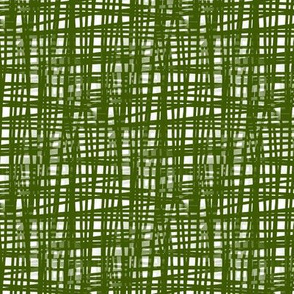Green Crosshatch