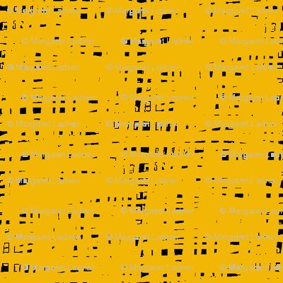 Yellow Crosshatch