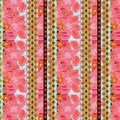 pomegranate explosion - small pattern