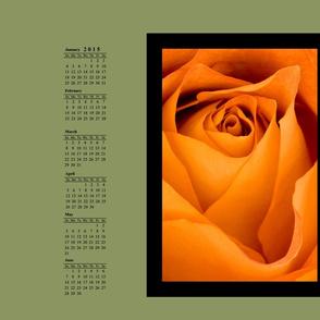 2015 Rose Calendar 27 x 18