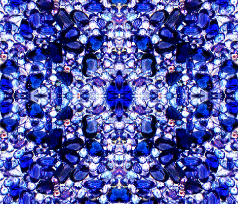 Royal Gems / Tanzanite  fabric by paragonstudios on Spoonflower - custom fabric