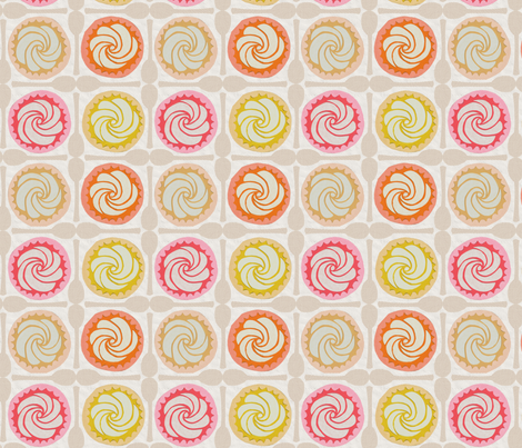 HAPPY SNACK fabric by glorydaze on Spoonflower - custom fabric