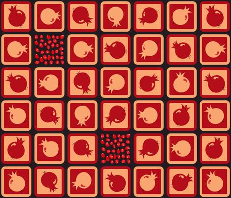 Pome Pome fabric by padeshahoo on Spoonflower - custom fabric