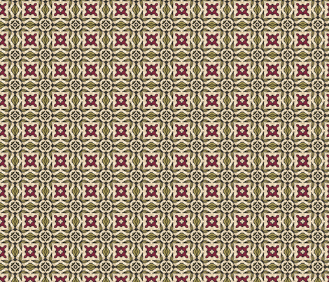 Rustic Tile #1 fabric by mutanthelianthus on Spoonflower - custom fabric
