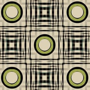 Gingham World (Chartreuse)