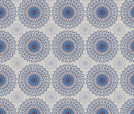 Mandalay fabric by rwpattern on Spoonflower - custom fabric