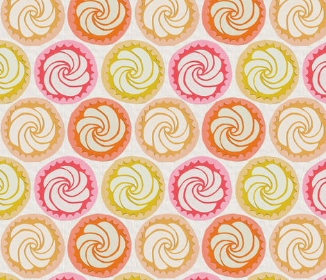 HAPPY CUPCAKES fabric by glorydaze on Spoonflower - custom fabric