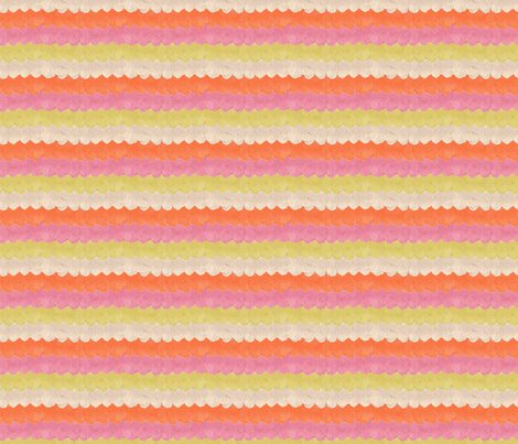 HAPPY WAVES fabric by glorydaze on Spoonflower - custom fabric