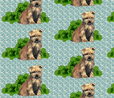 Glen Of Imaal Terriers fabric by dogdaze_ on Spoonflower - custom fabric