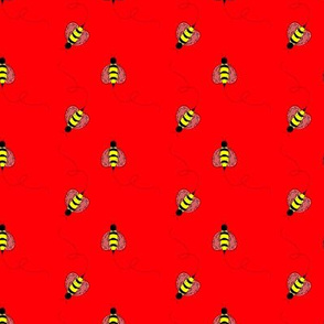Buzzy Bee Red