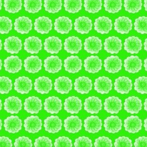 Whimsy Flower Green
