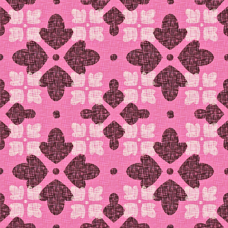 ROSE_FLORAL_WEAVE fabric by glimmericks on Spoonflower - custom fabric
