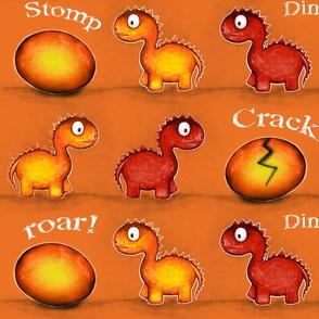 DINO - Orange