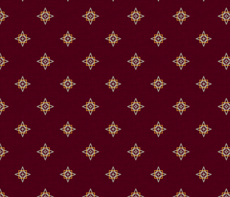 Kashmir ditsy fabric by bucketofuzz on Spoonflower - custom fabric
