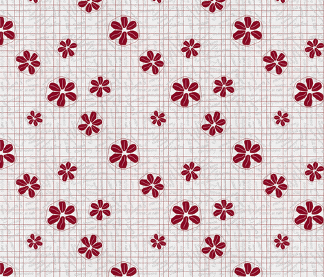 Pomegranate fabric by greennote on Spoonflower - custom fabric