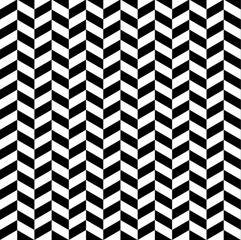 Chevron Black & White fabric by kimsa on Spoonflower - custom fabric