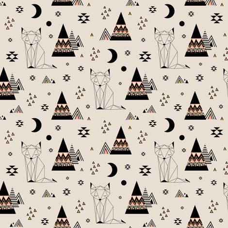 Distant Planet (small) fabric by kimsa on Spoonflower - custom fabric