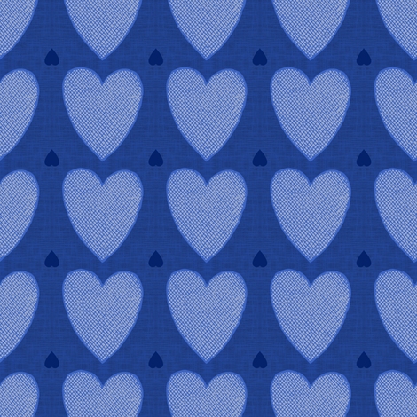 Hearts fabric by brainsarepretty on Spoonflower - custom fabric